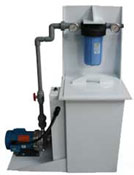 Our Filtered Sump Pump for filtering waste water